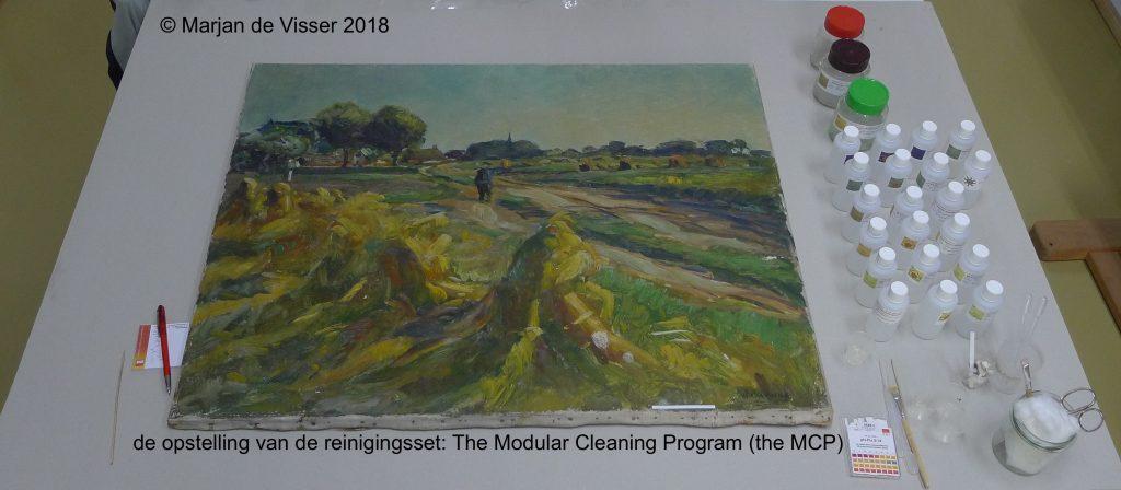 Schilderijen reinigen en schoonmaken
