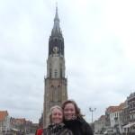 NK Delft voor de kerk