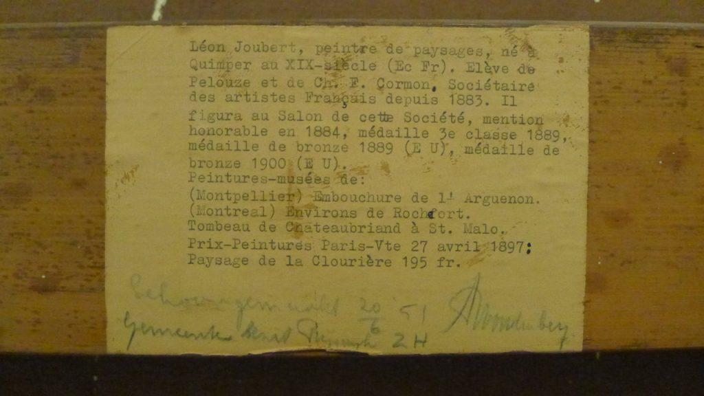 Leon Joubert biografie