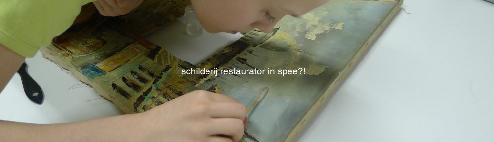 schilderij restauratie-moderne kunst