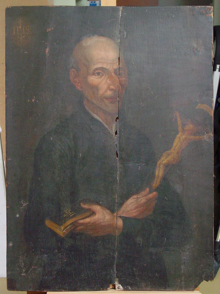 Franciscus de Hieronymo-before treatment