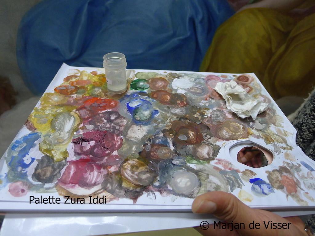 palette Zura Iddi