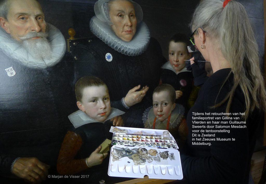 salomo mesdach in de tentoonstelling 'dit is zeeland' in het Zeeuws museum in Middelburg