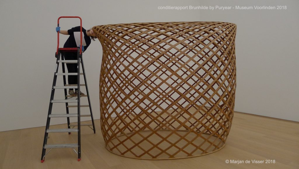 conditierapport Brunhilde by Puryear - Museum Voorlinden 2018