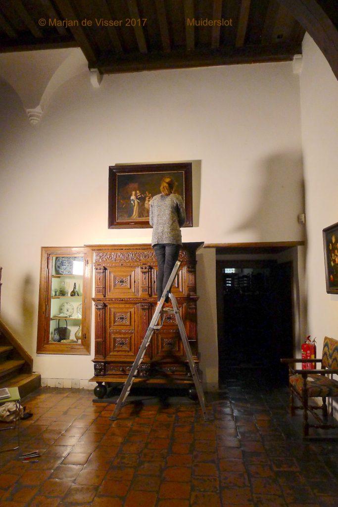 Muiderslot schilderijen restauratie project