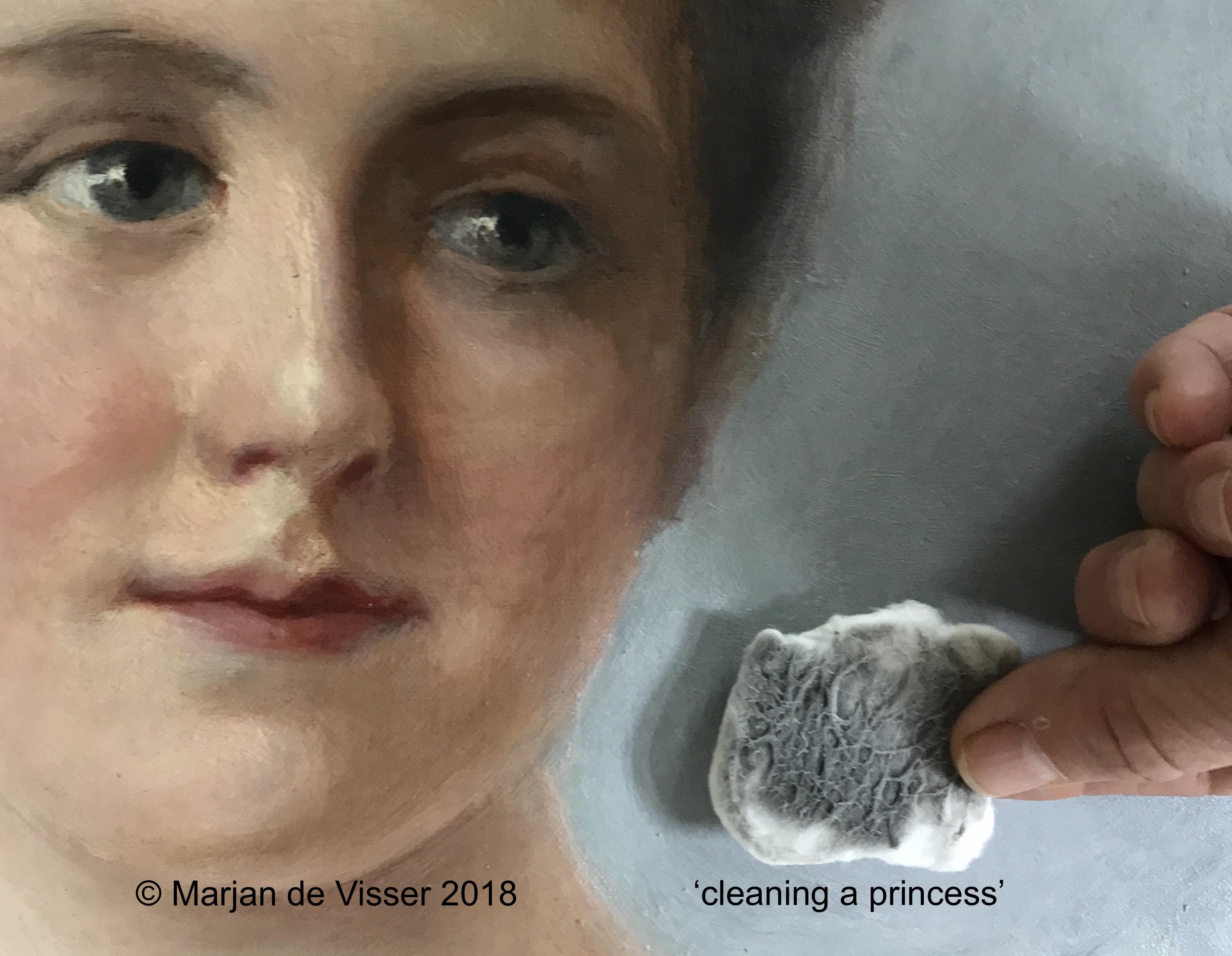 schilderij schoonmaken en reinigen