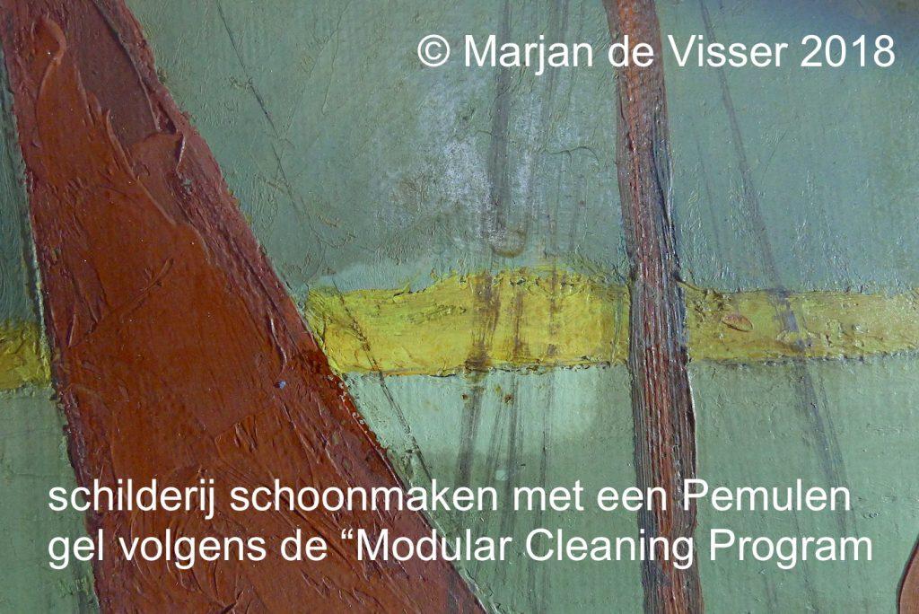 schilderij reinigen en schoonmaken