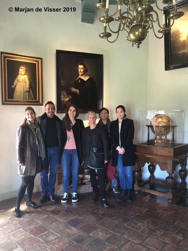 restaureren schilderijen muiderslot