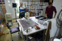 restauratie in het atelier