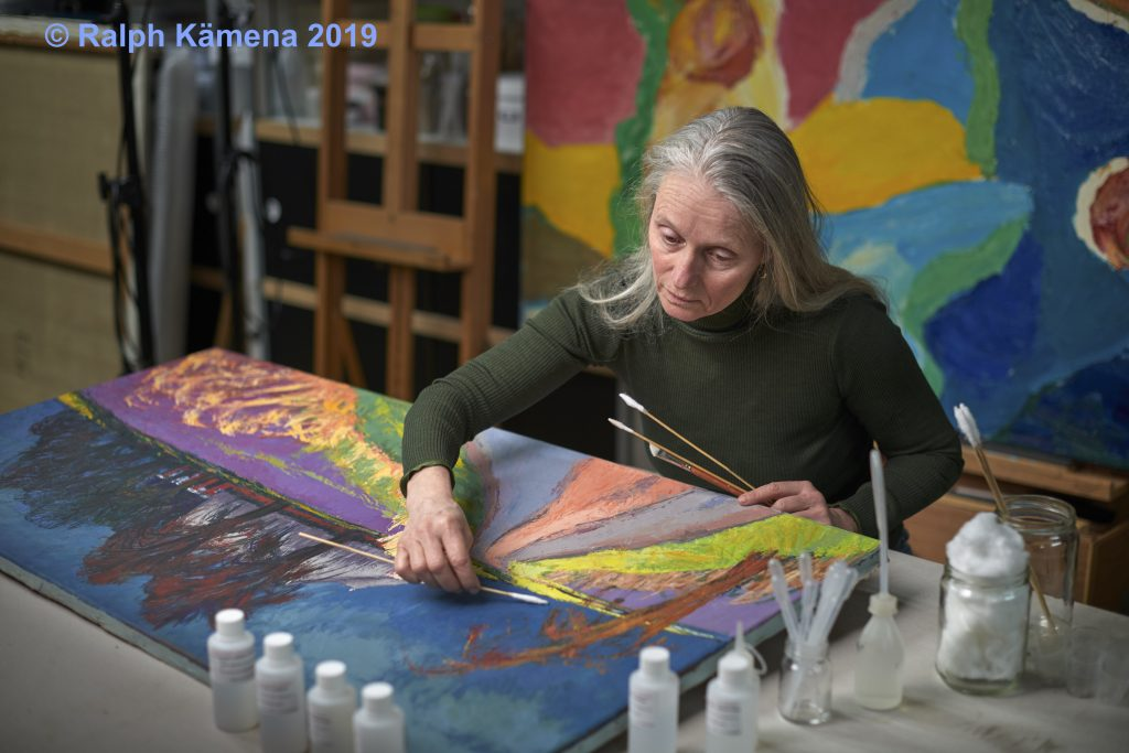 Marjan de Visser conservator paintings