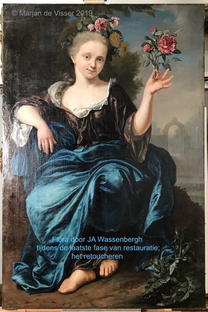 jan abel wassenbergh schilderij na restauratie