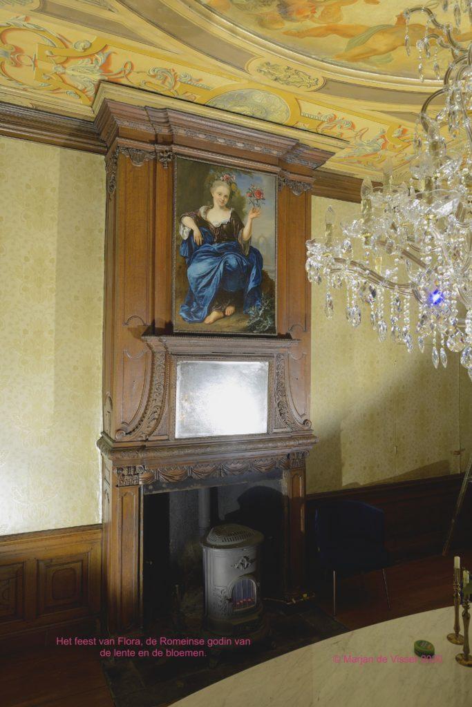 schilderij restauratie - schouwstuk