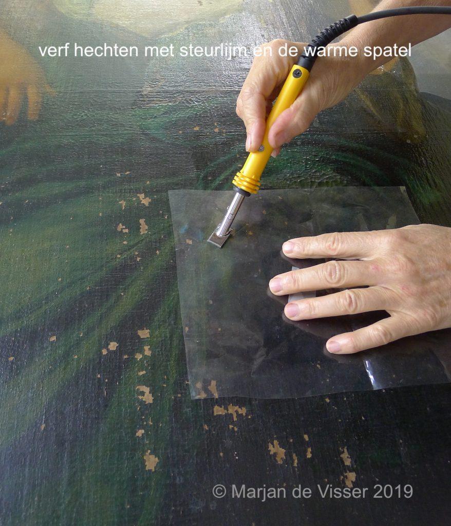schilderij restauratie schouwstuk